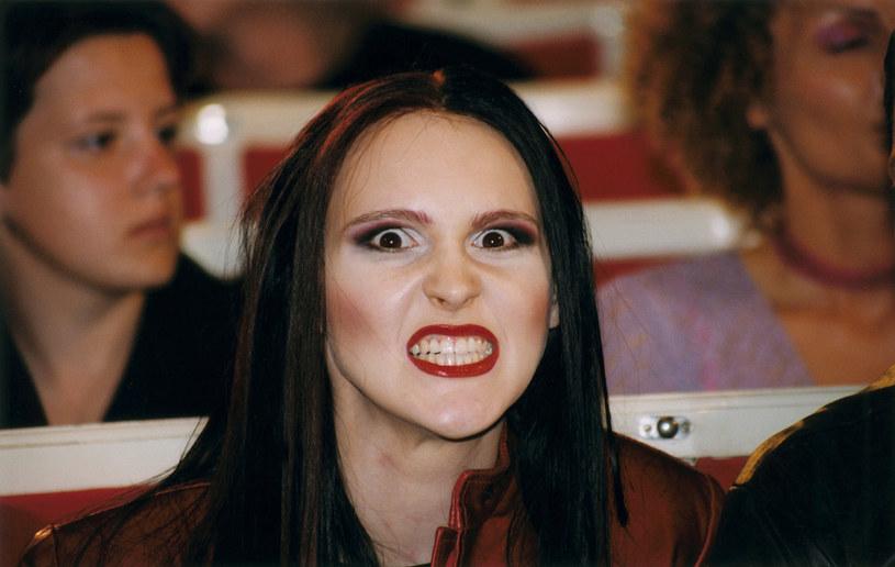 Agnieszka Chylińska w 2000 r. /AKPA