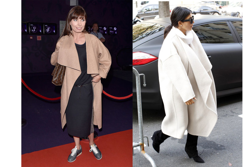 Agnieszka Dygant i Kim Kardashian /East News