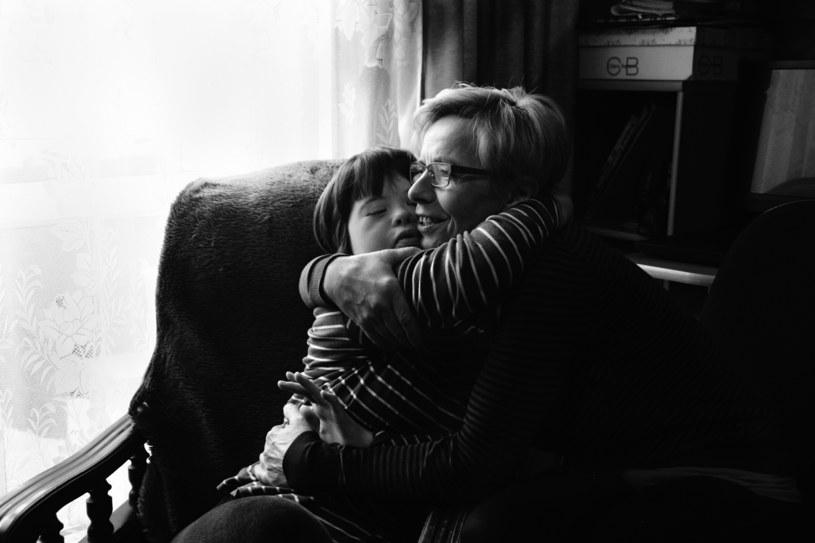 Agnieszka Gryz z mamą / fot. Eva Hajduk /