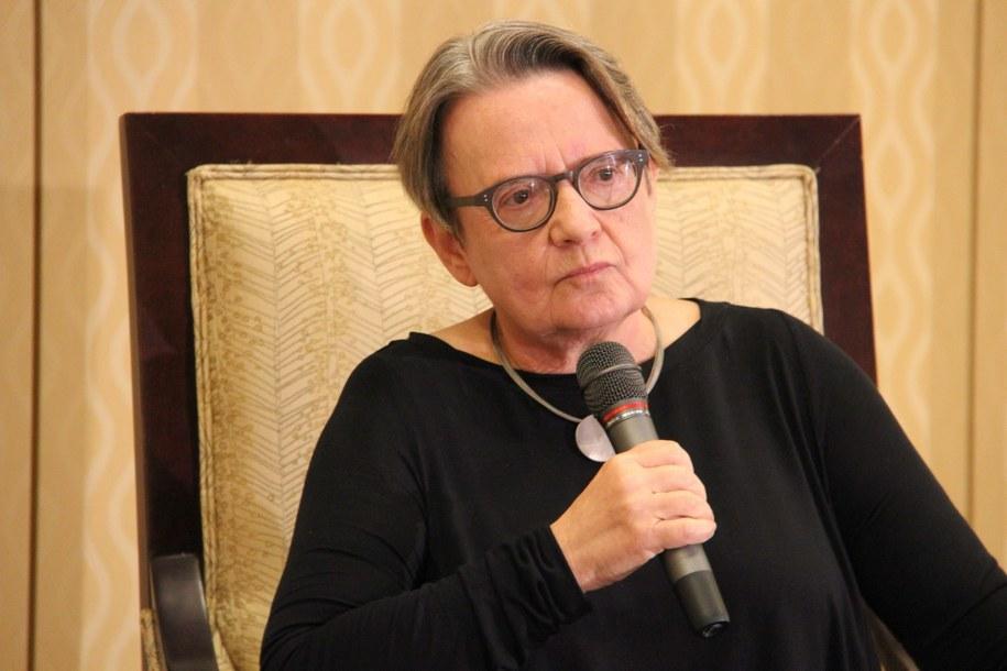 Agnieszka Holland /Paweł Żuchowski /RMF FM