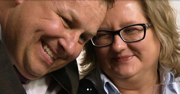 """Agnieszka i Mariusz z """"Apetytu na miłość"""" /Instagram"""