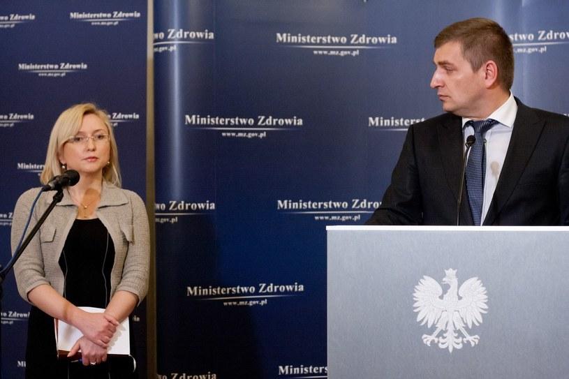 Agnieszka Pachciarz i Bartosz Arłukowicz /Krystian Maj /Reporter