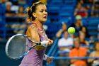 Agnieszka Radwańska - Jelina Switolina 6:1, 7:6 (3) w finale turnieju w New Haven