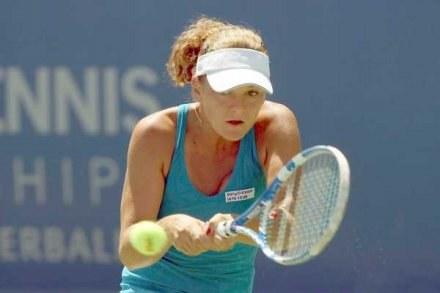 Agnieszka Radwańska jest w 1/8 turnieju w LA /AFP