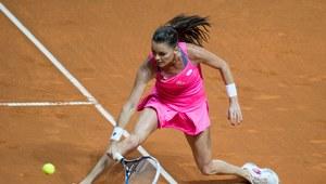 Agnieszka Radwańska - Karolina Pliszkova 6:2, 7:6 (10-8) w ćwierćfinale turnieju WTA w Stuttgarcie