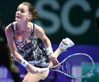 Agnieszka Radwańska pokonała Garbine Muguruzę w WTA Finals