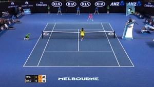 Agnieszka Radwańska - Serena Williams 0:6, 4:6. Film
