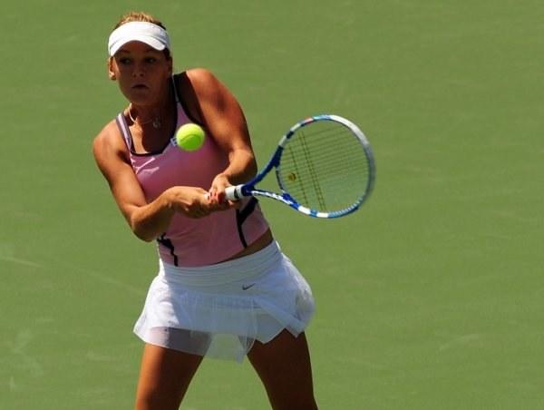 Agnieszka Radwańska to najlepsza polska tenisistka. /AFP