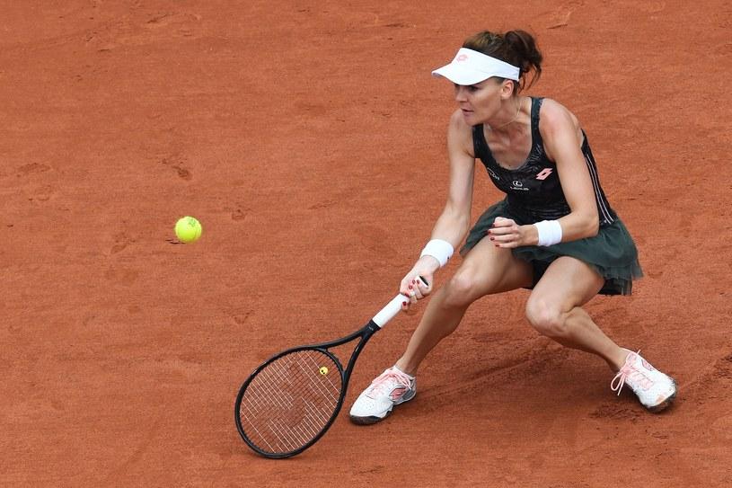 Agnieszka Radwańska utrzymała miejsce w czołowej dziesiątce rankingu WTA /FRANCOIS XAVIER MARIT /East News