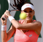 Agnieszka Radwańska wygrała z Barborą Strycovą na Roland Garros