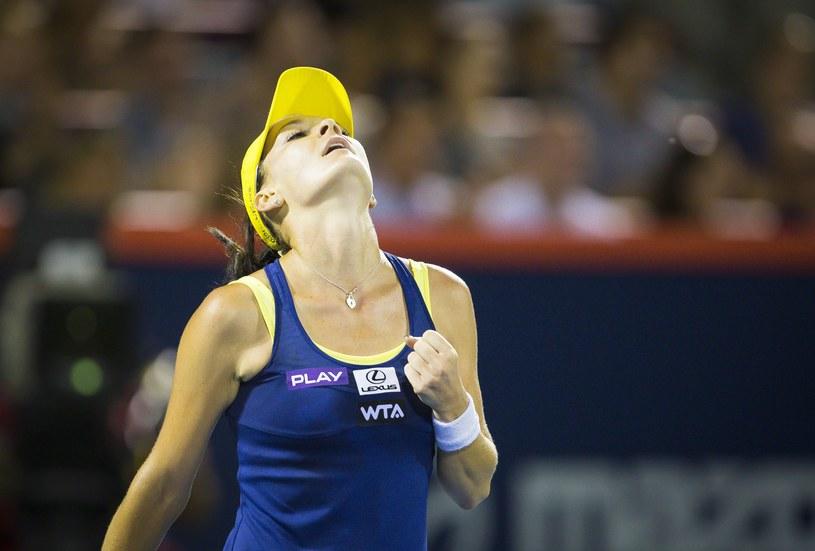 Agnieszka Radwańska zagra w nocy z Venus Williams /ANDRE PICHETTE /PAP/EPA