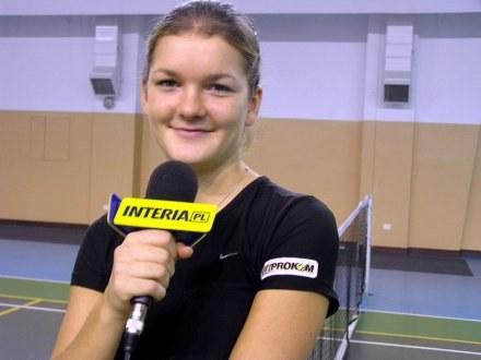 Agnieszka Radwańska /INTERIA.PL