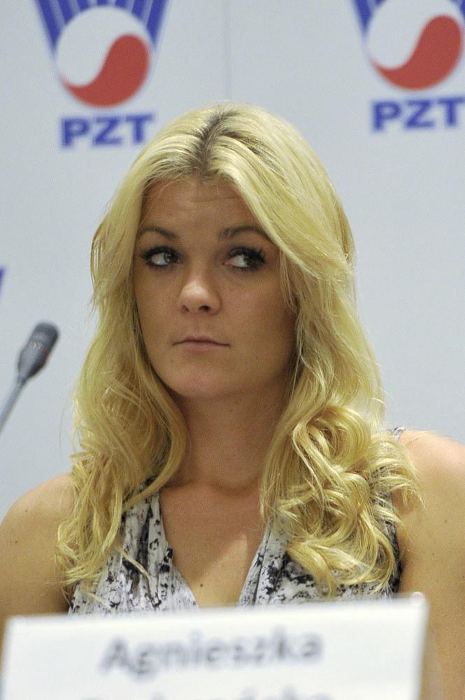 Agnieszka Radwańska /Mieszko Pietka /AKPA