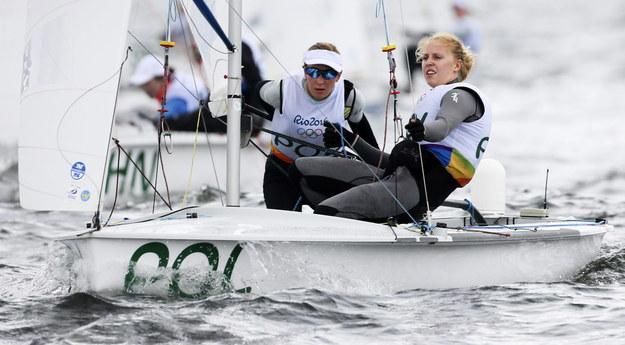 Agnieszka Skrzypulec i Irmina Mrózek-Gliszczyńska /OLIVIER HOSLET /PAP/EPA