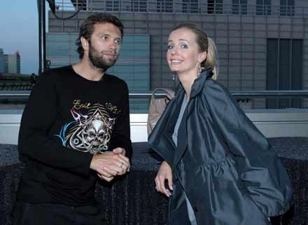 Agnieszka Szulim i Adam Badziak/fot. Paweł Przybyszewski /MWMedia
