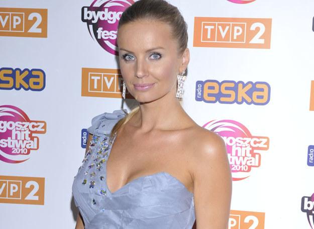 Agnieszka Szulim przyznała, że powiększyła piersi dla męża /J. Antoniak /MWMedia