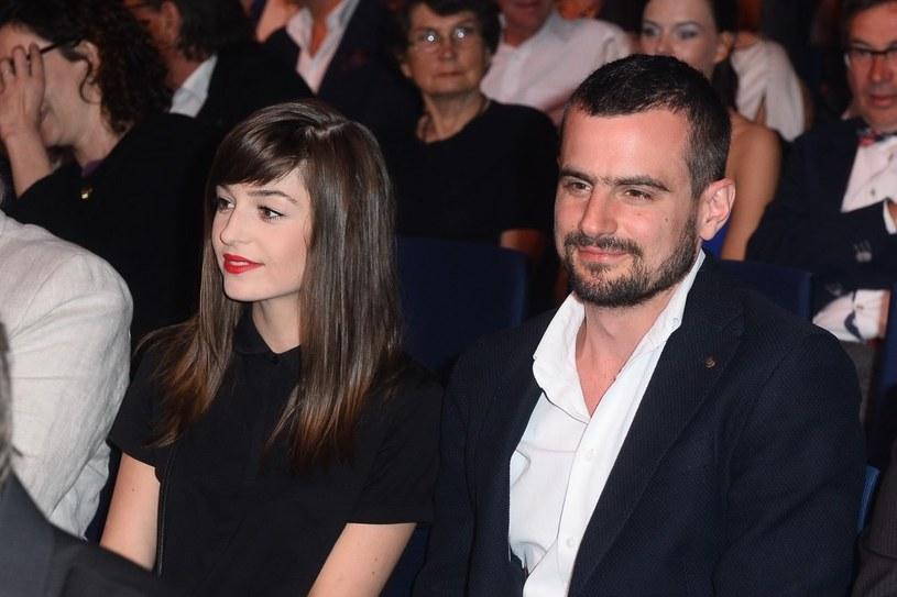 Agnieszka Więdłocha i Antoni Pawlicki /Jarosław Antoniak /MWMedia