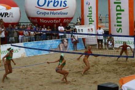 Agnieszka Wołoszyn i Magdalena Michoń-Szczytowicz wygrały w Mrągowie Fot. Simplus Cup /