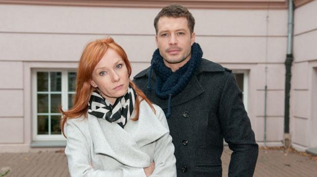 Agnieszka wyzna Tomkowi, że nigdy o nim nie zapomni i zawsze będzie go kochała /Agencja W. Impact