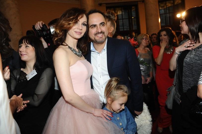 Agustin Egurrola z Niną Tyrką i córką Carmen /VIPHOTO /East News