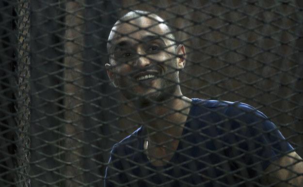 Ahmed Douma został skazany na dożywocie fot. Khaled Desouki /AFP