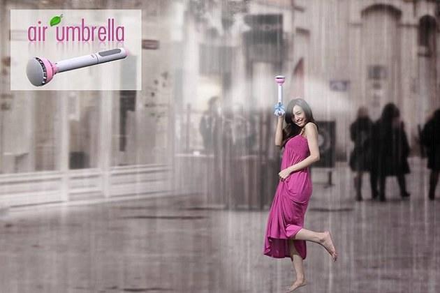 Air umbrella na pierwszy rzut oka zachwyca. /materiały prasowe