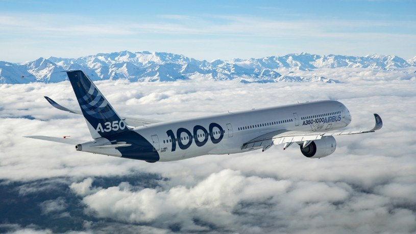 Airbus A350-1000 /materiały prasowe