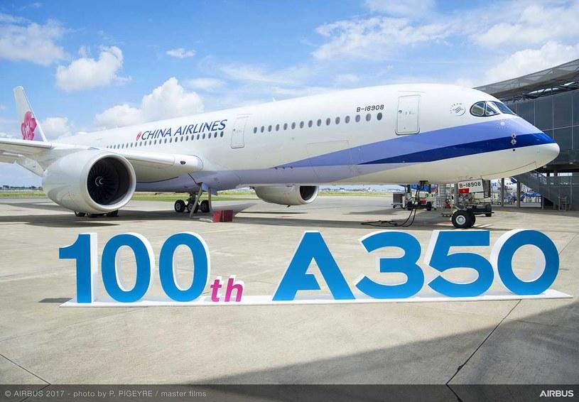 Airbus A350 XWB /materiały prasowe