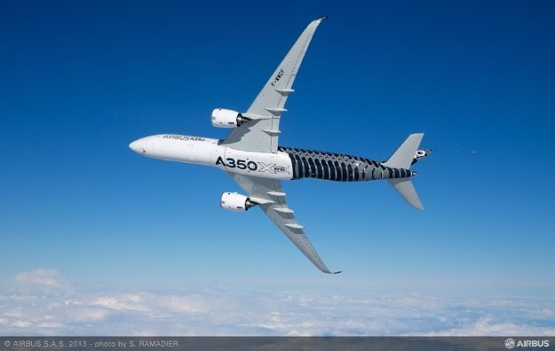 Airbus A350 /materiały prasowe