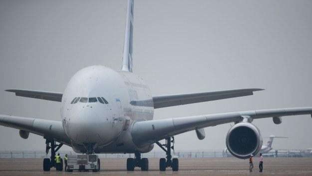 Airbus A380 na Airshow China 2014 /AFP