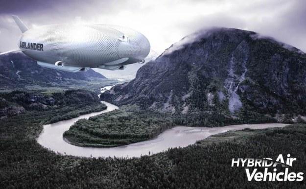 Airlander - wizualizacja.   Fot. Hybrid Air Vehicles /materiały prasowe