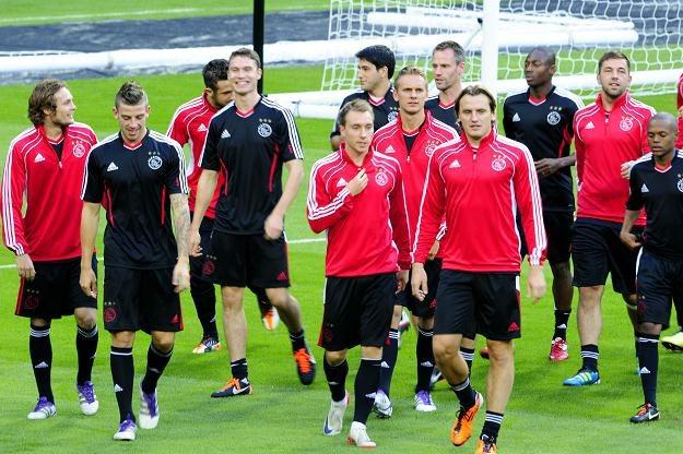 Ajax Amsterdam trenował na Santiago Bernabeu. /AFP