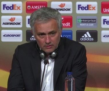 Ajax - Manchester United 0-2 w finale LE. Mourinho po meczu