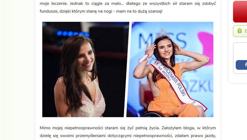 Akademicka reprezentacja Polski pomaga Annie Płoszyńskiej