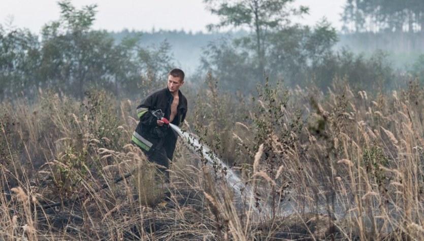 Akcja gaśnicza w Lisowicach