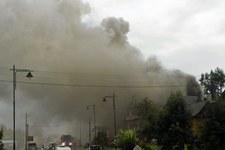 Akcja gaszenia pożaru w Białce Tatrzańskiej
