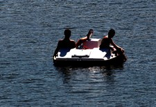 Akcja na Jeziorze Barlineckim. Szukają 40-latka