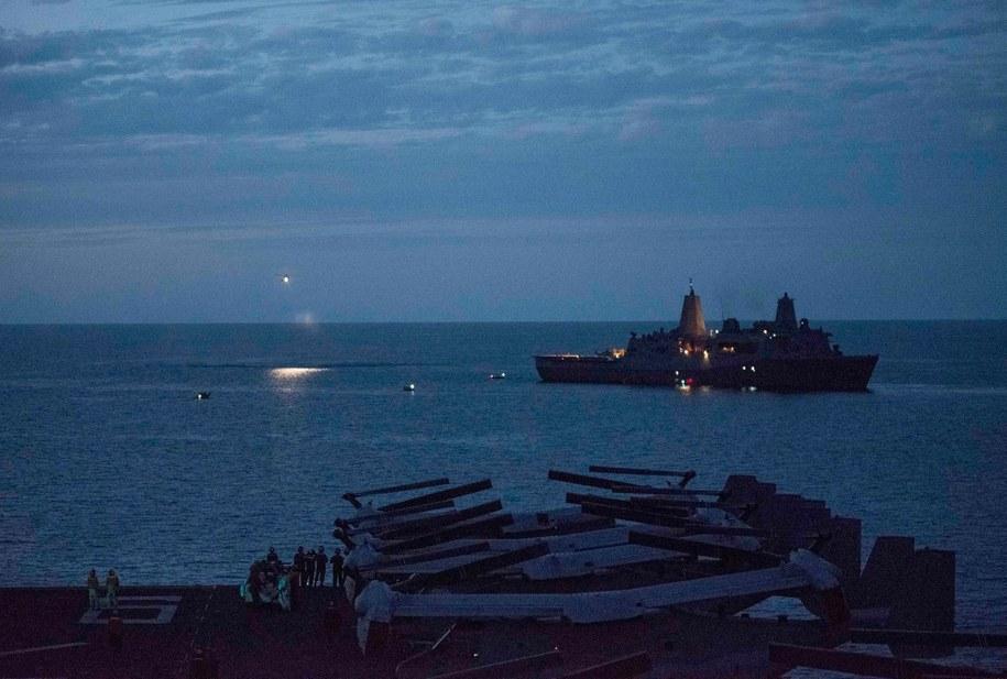 Akcja poszukiwawcza po zaginięciu trzech amerykańskich marines /MC2 SARAH VILLEGAS/HANDOUT /PAP/EPA