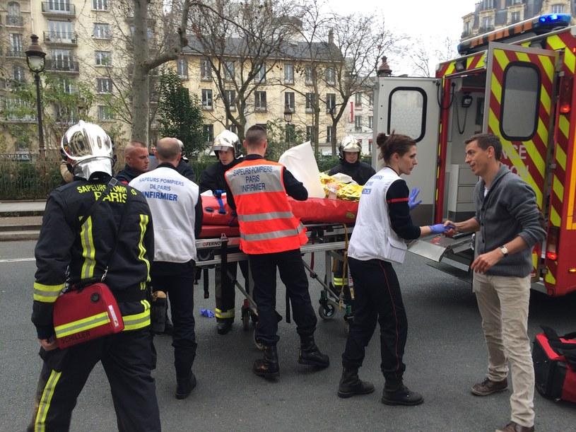Akcja ratunkowa po zamachu /AFP