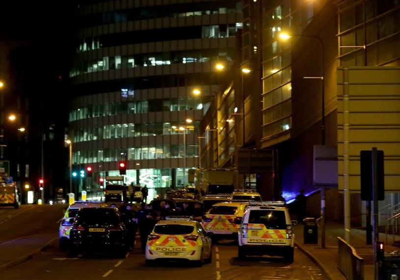 Akcja służb po zamachu w Manchesterze /PAP/EPA