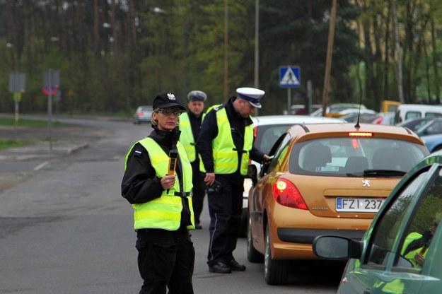 """Akcja """"Trzeźwy poranek"""" /Piotr Jędzura /Reporter"""