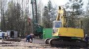 Akcja w kopalni: Kombajn pracuje wzdłuż wyrobiska
