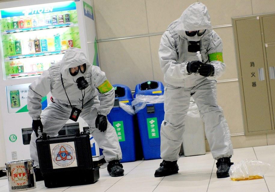 Akcja zabezpieczania sarinu / ANDY RAIN    /PAP/EPA