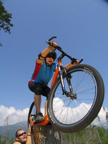 Akrobacje rowerowe pod Tatrami /materiały prasowe