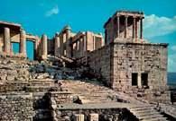 Akropol ateński: Propyleje /Encyklopedia Internautica
