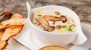 Aksamitna zupa borowikowa
