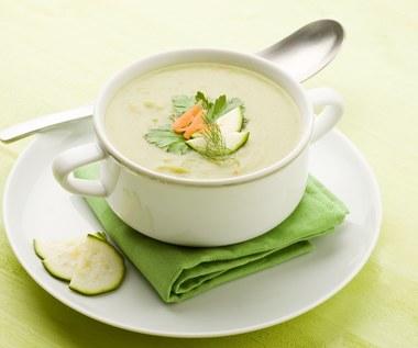 Aksamitna zupa krem z cukinii