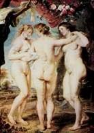 Akt: Rubens, Trzy Gracje, 1639 r. /Encyklopedia Internautica