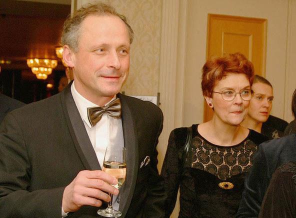 Aktor przed laty stracił żonę. Barbara Winiarska w 2002 roku przegrała walkę z rakiem  /AKPA