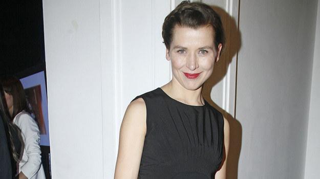 """Aktorka gra obecnie w sztuce """"Małe zbrodnie małżeńskie"""", a w przyszłym roku zobaczymy ją w filmie """"Płynące wieżowce"""". /fot  /AKPA"""